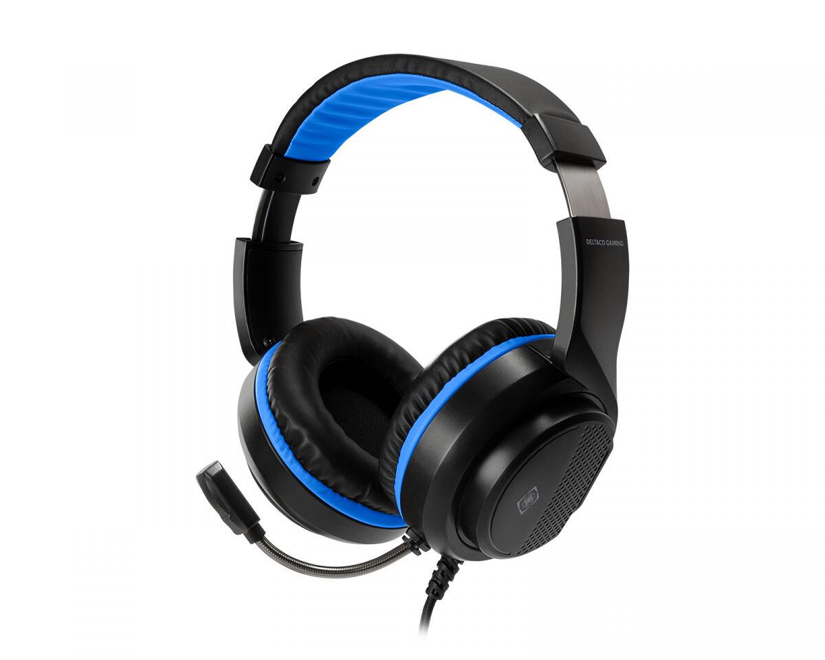 Deltaco Gaming GAM-127 Gaming Headset til PS5 - Svart