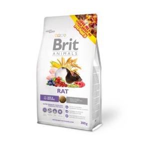 Brit Animals Complete Råtta 300g