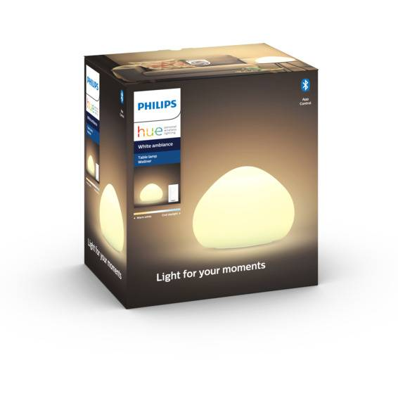 Philips Hue WA Wellner Bordlampe 9.5W Hvit ink dim - 60056