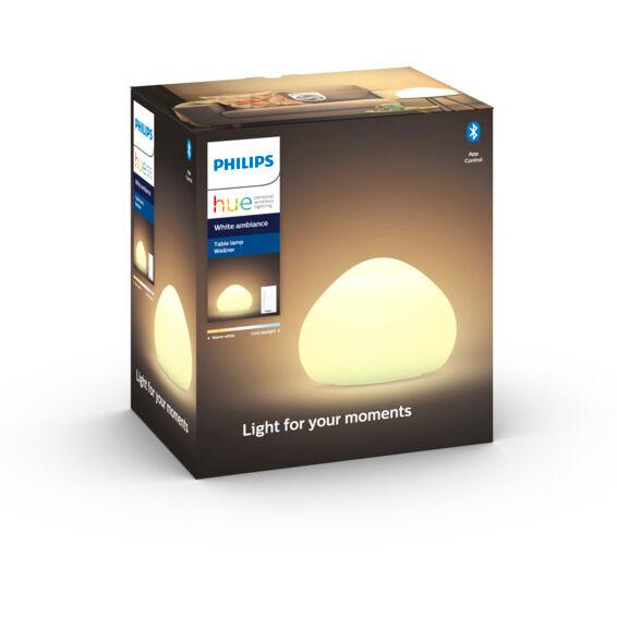 Philips Hue WA Wellner Bordlampe 9.5W Hvit ink dim - 60056