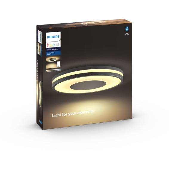 Philips Hue WA Being Taklampe 32W Sort ink dim - 60066