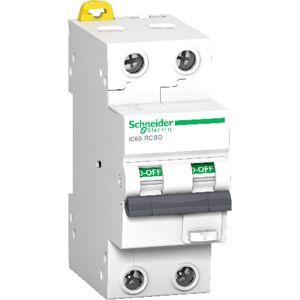 Schneider Electric Schneider Jordfeilautomat IC60 2P 25A 30MA C 10kA - 1600913