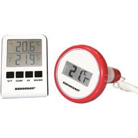 Powermaxx Badetermometer Elektronisk, Trådløst