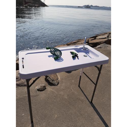 Powermaxx Fiske/sløye Bord M/vask Og Spyleslange
