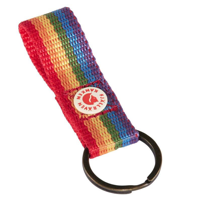Fjällräven Kånken Rainbow Keyring Flerfarget