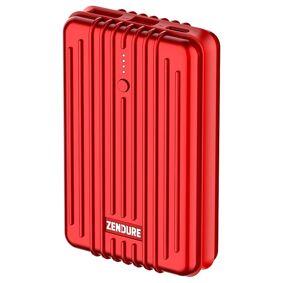 Zendure A3 PD Portable Charger 10 000 mAh Rød