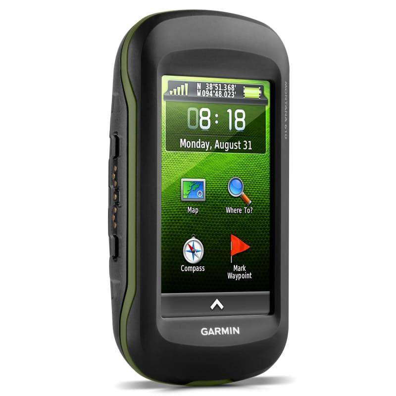Garmin Montana 610 GPS Sort