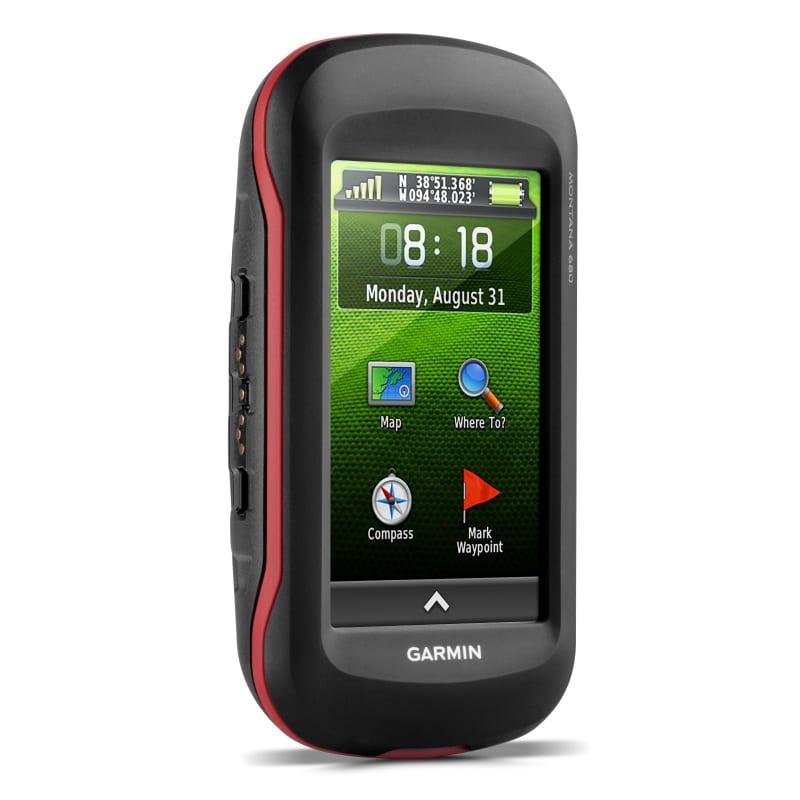 Garmin Montana 680 GPS Sort