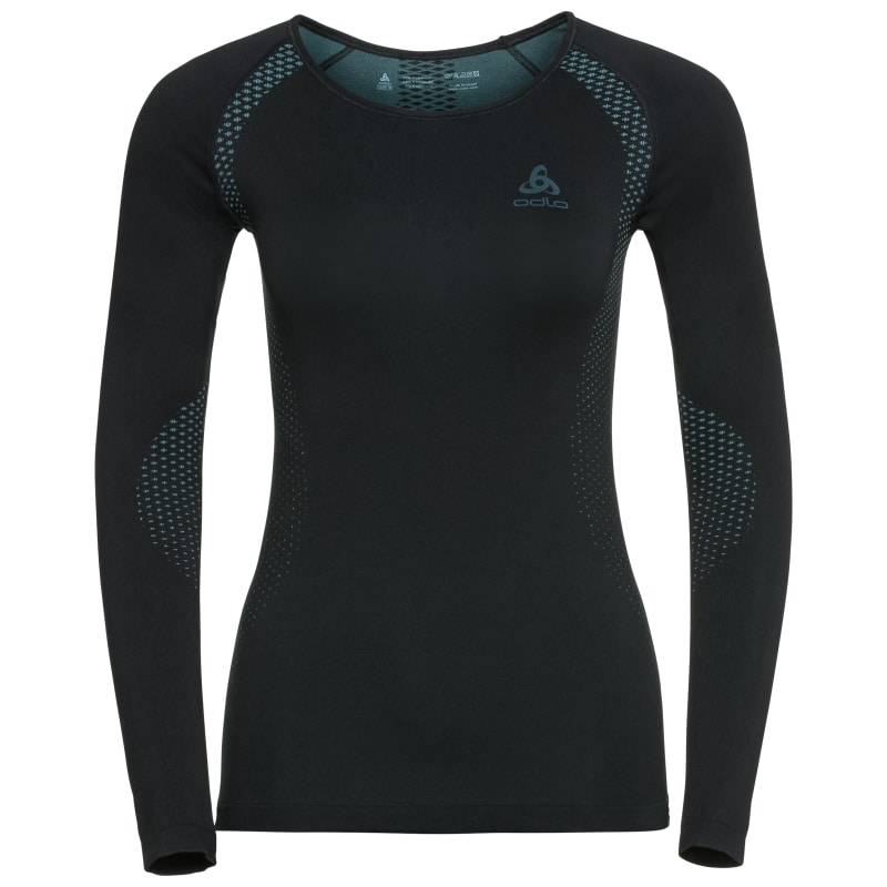 Odlo Women's Shirt L/S Crew Neck Essentials Sort