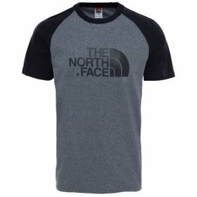 The North Face Men's SS Raglan Easy Tee Grå