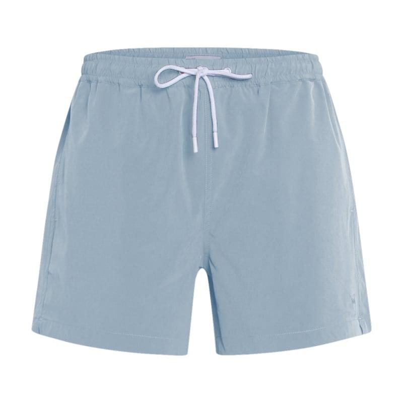 Knowledge Cotton Apparel Bay Stretch Swimshorts - Grs/Vegan Blå