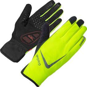 GripGrab Cloudburst Hi-Vis Waterproof Midseason Glove Gul