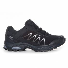 Polecat Unisex Waterproof Softshell Shoes Sort