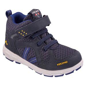 Viking Footwear Kid's Alvdal Mid Reflex Gore-Tex Blå
