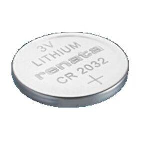 Renata 3V Lithium Coin Cells CR2032 MFR 10 pcs Grå