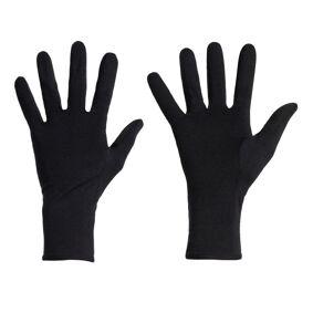 Icebreaker Unisex 260 Tech Glove Liners Sort