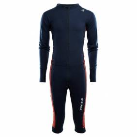 Aclima WarmWool Overall 3/4 Man Blå
