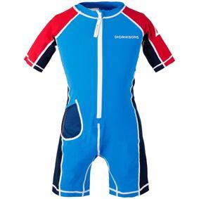 Didriksons Reef Kids Swimming Suit 2 Blå