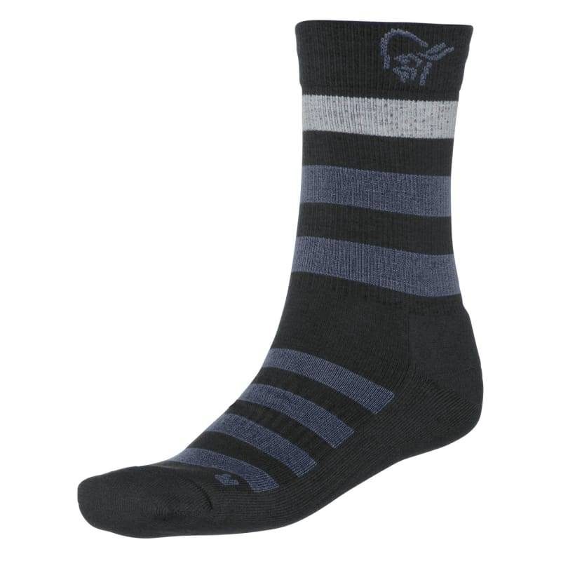 Norrøna Falketind Mid Weight Merino Socks Sort