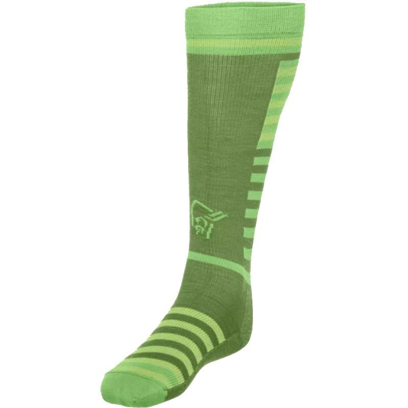 Norrøna Lyngen Light Weight Merino Socks Long Grønn