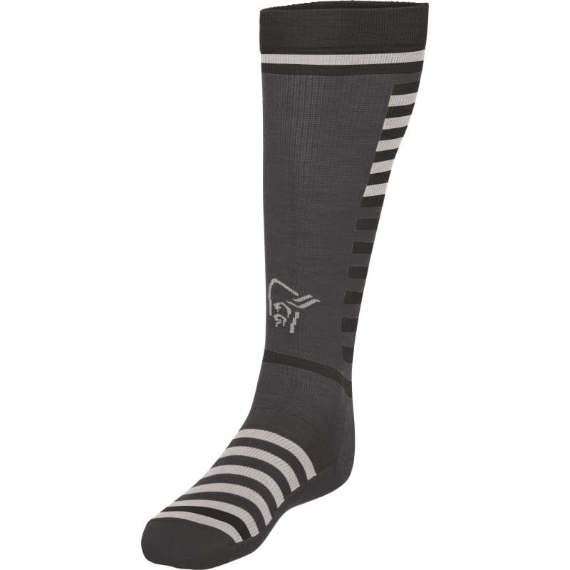 Norrøna Lyngen Light Weight Merino Socks Long Sort