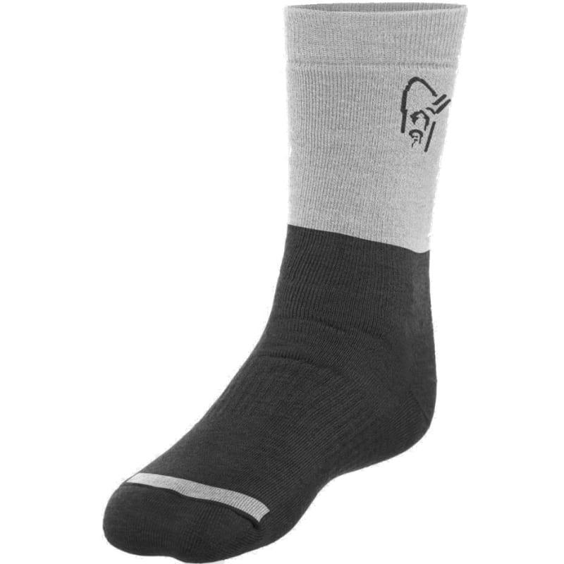 Norrøna Trollveggen Heavy Weight Merino Socks Sort