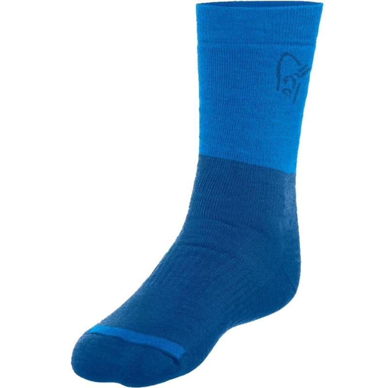 Norrøna Trollveggen Heavy Weight Merino Socks Blå
