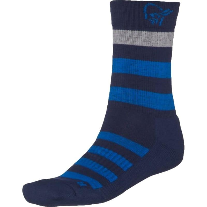 Norrøna Falketind Mid Merino Socks 5-Pack Blå