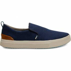 TOMS Men's Travelite Slip-On Blå