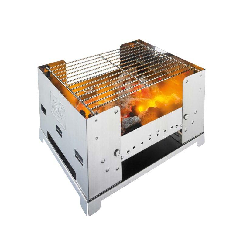 Esbit Stainless Steel Foldable Bbq Box Metall
