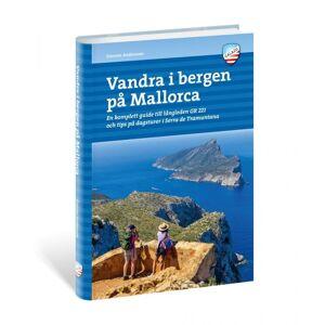 Calazo forlag Vandra i bergen på Mallorca Blå