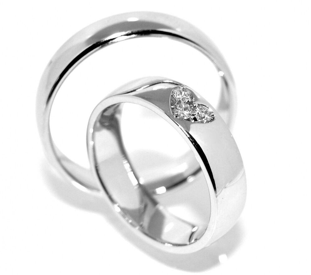 Forlovelsesringer SuperDeal med diamanter 0.08 carat