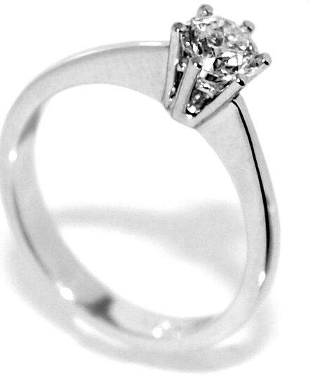 Forlovelsesring 0.50 carat tw.vs GIA