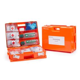 Røde Kors Førstehjelpskoffert Komplett (Stor Koffert)