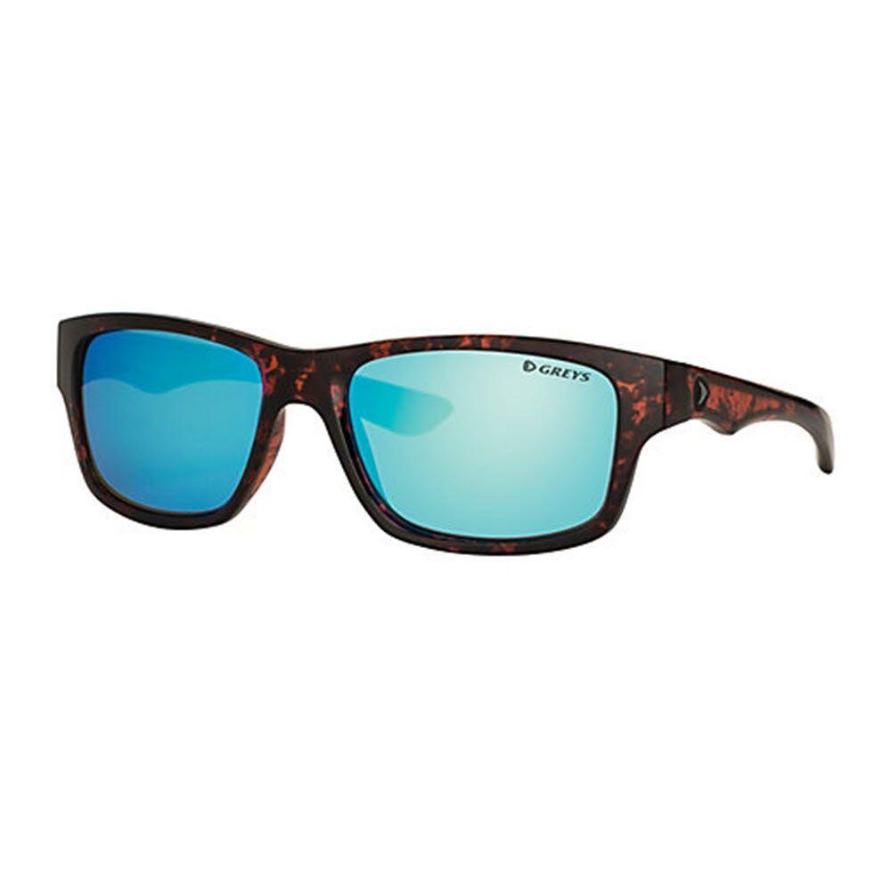Greys G4 Gloss Tortoise/Blue Mirror - solbrille