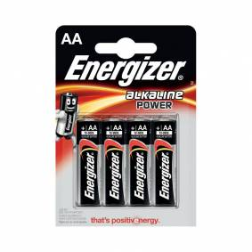 Energizer Power batteri - AA, 4stk