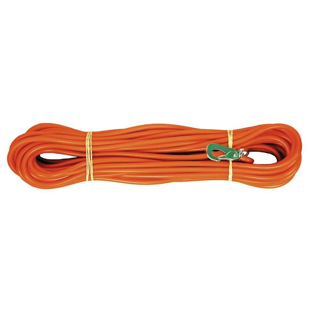 Alac Sporline til hund, 15 meter, oransje