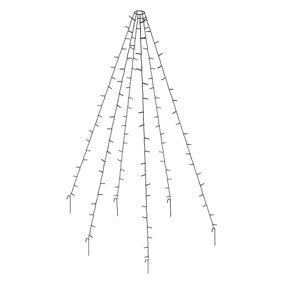 Christmas Lights LED-mikroklynge julelys (360 lyspærer)