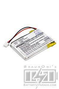 Dual Batteri (1250 mAh, Sort) passende til Dual XGPS160