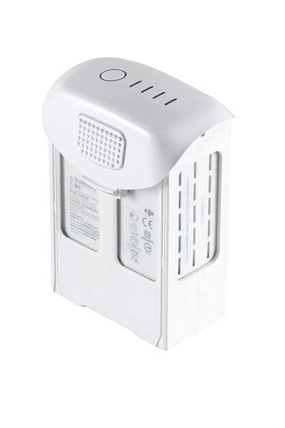 DJI Batteri (5870 mAh, Hvit, Originalt) passende for DJI Phantom 4 Pro
