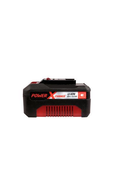EINHELL Batteri (3000 mAh, Sort, Originalt) passende til Einhell TE-AG 18/115 Li