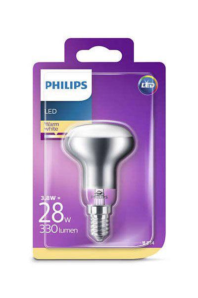 E14 Philips E14 LED-lyspærer 3,8W (28W) (Reflektor)