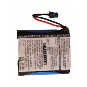 Panasonic Batteri (600 mAh) passende til Panasonic KX-TG2593B