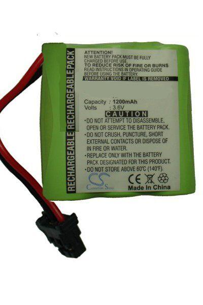 Memorex Batteri (1200 mAh) passende til Memorex MPH-6955