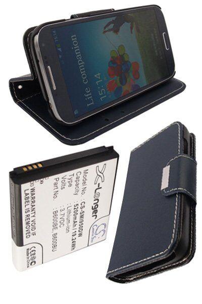 Samsung Batteri (5200 mAh, Mørk blå) passende til Samsung Galaxy S4