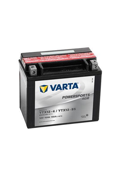 Yamaha Varta Batteri (10000 mAh, Originalt) passende for Yamaha YZF 750 SP (4HT)