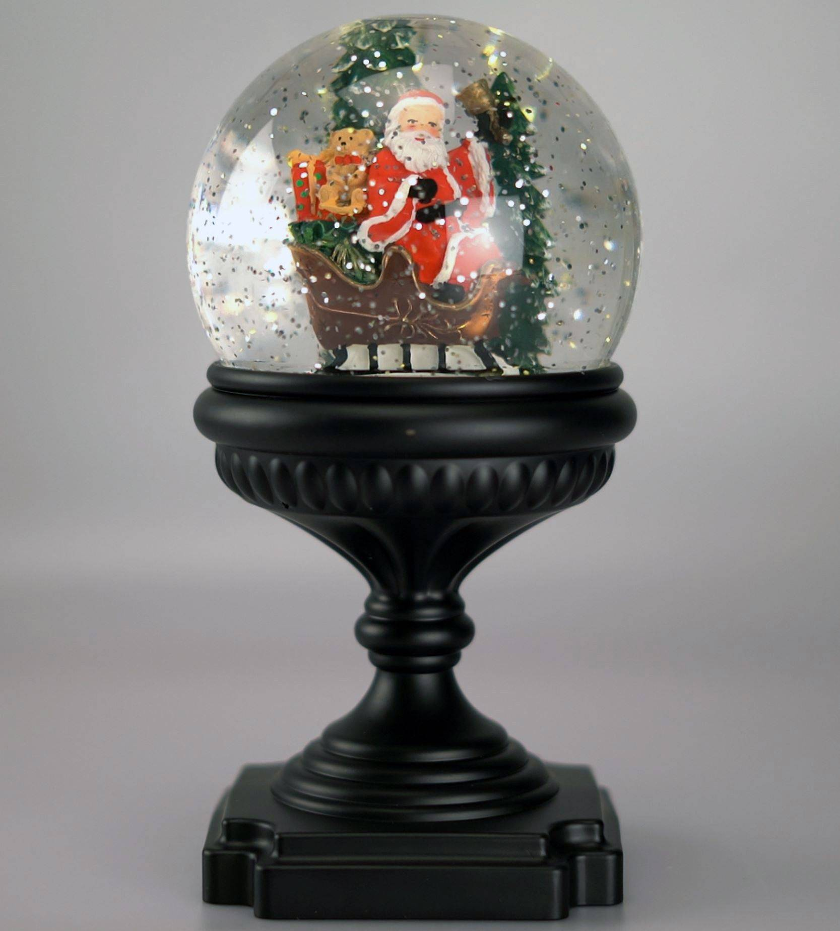 XMAS Collection Lanterne Kule m/LED-lys Julenisse (482-PT-22130)