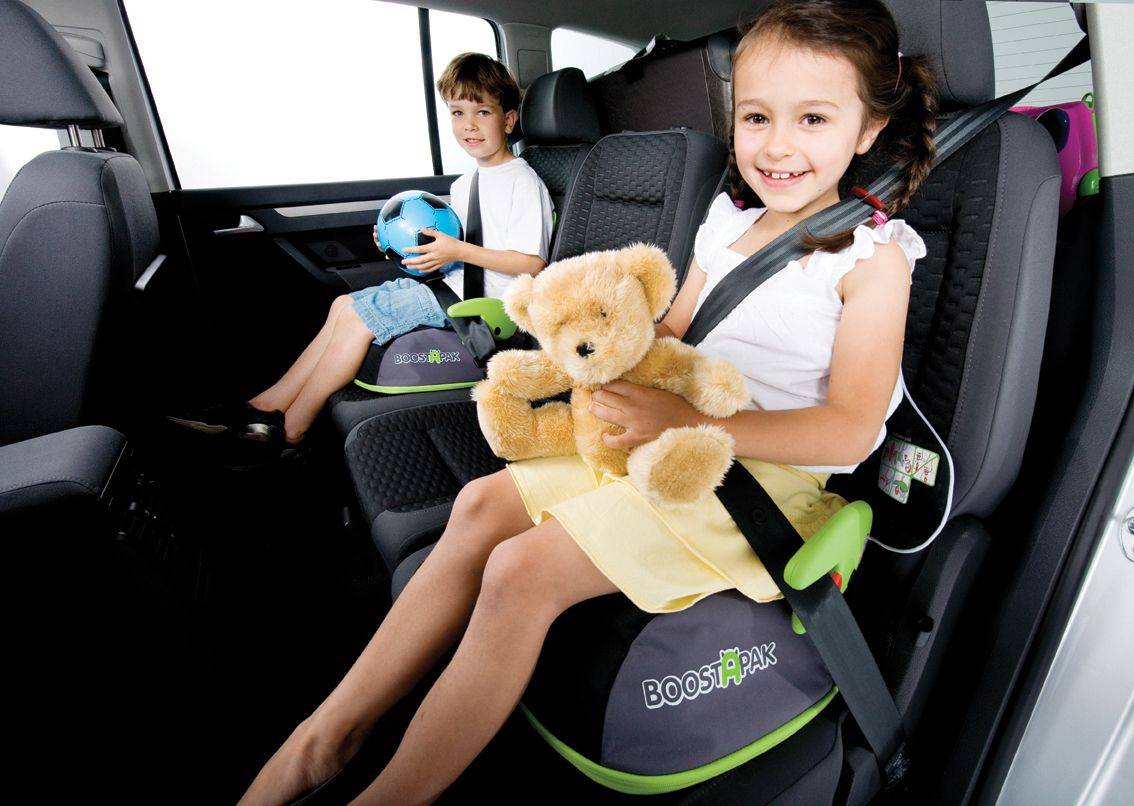 Trunki BoostApak bilpute ryggsekk grønn (107-0041-GB01)