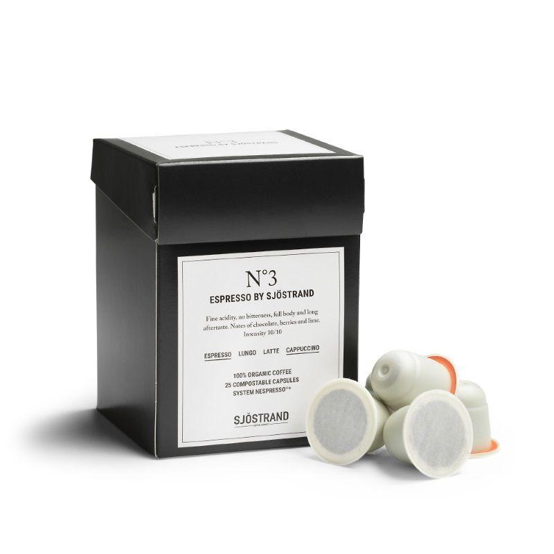 Sjöstrand Espresso No.3 (25 kapsler) (440-SJ1003)