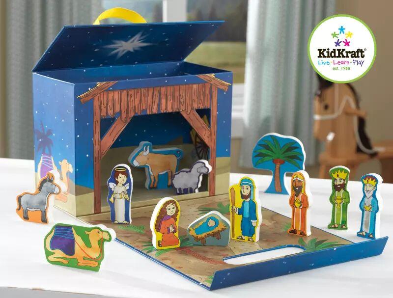 KidKraft Reisesett Playbox, Nativity Scene (101-63438)